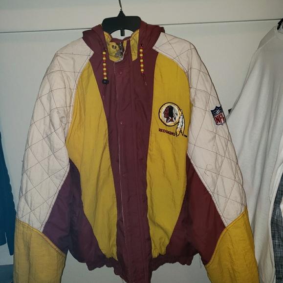 sale retailer abbdc 081a3 Vintage Washington Redskins starter jacket xl